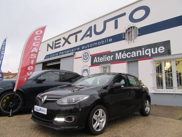 Renault Megane III 1.5 DCI 95CH BUSINESS EURO6 2015 Noir Occasion - 1