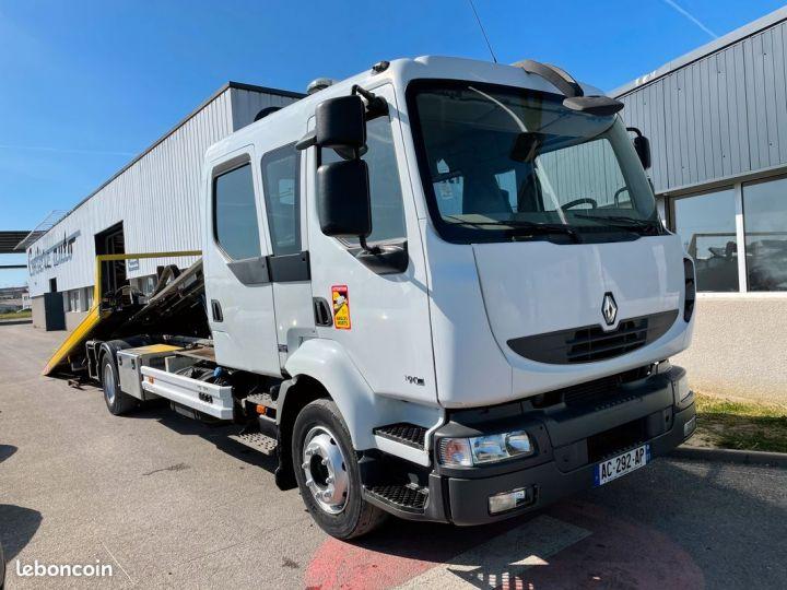 Renault Midlum depanneuse double cabine panier  - 1