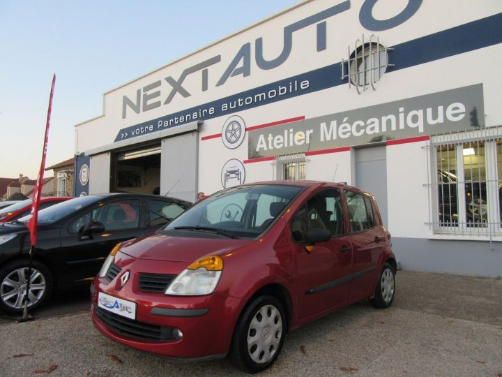 Renault Modus 1.2 16V 75CH PACK AUTHENTIQUE Rouge Occasion - 1