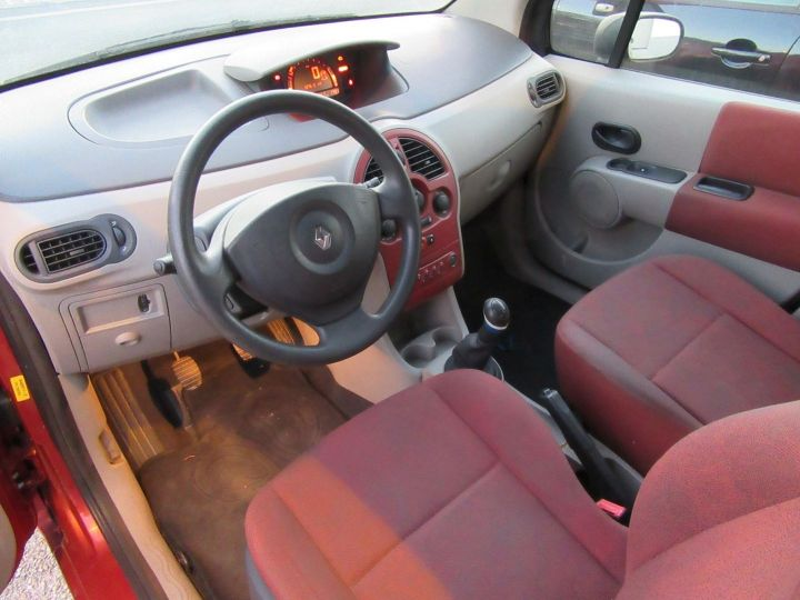 Renault Modus 1.2 16V 75CH PACK AUTHENTIQUE Rouge Occasion - 2