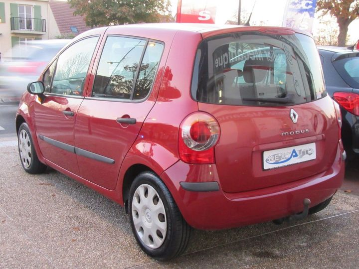 Renault Modus 1.2 16V 75CH PACK AUTHENTIQUE Rouge Occasion - 3