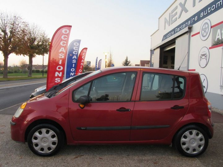 Renault Modus 1.2 16V 75CH PACK AUTHENTIQUE Rouge Occasion - 5