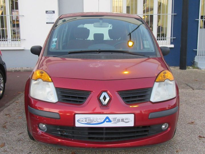 Renault Modus 1.2 16V 75CH PACK AUTHENTIQUE Rouge Occasion - 7