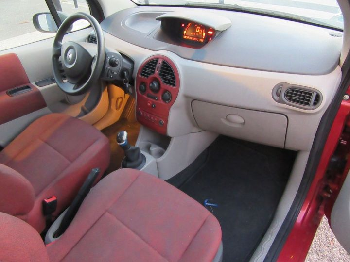 Renault Modus 1.2 16V 75CH PACK AUTHENTIQUE Rouge Occasion - 16