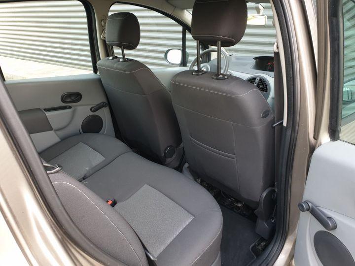 Renault Modus ii 1.216v eco 75 exprssion Beige Occasion - 7