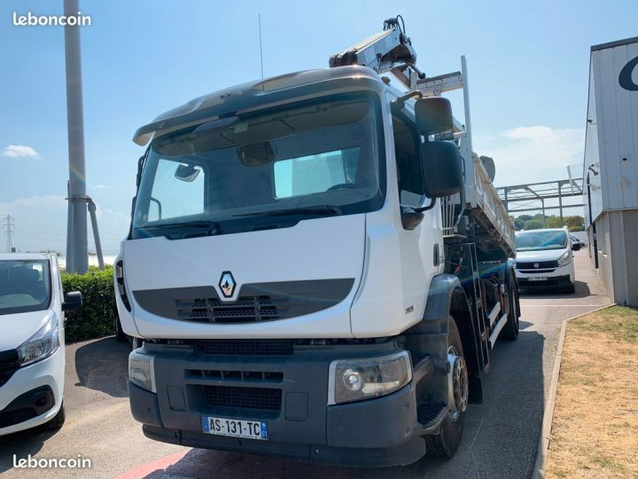 Renault Premium Lander länder 280 19t benne grue 110000km  - 4