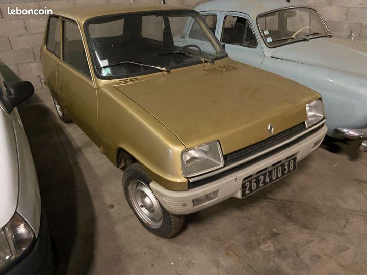Renault R5 1ère main 77000km a restaurer  - 1
