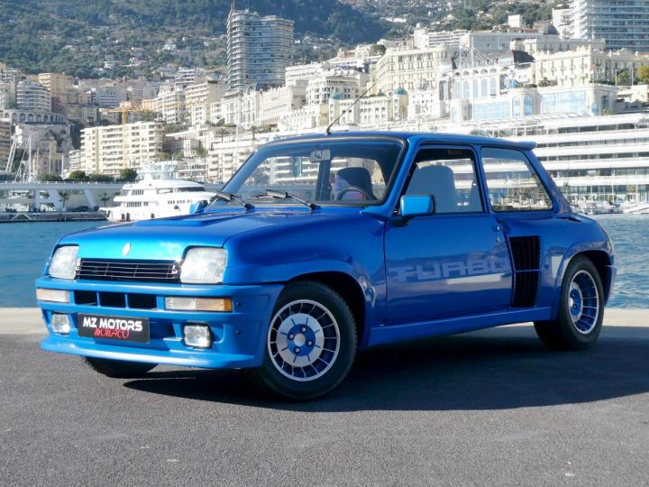 Renault R5 TURBO - N° 351 BLEU OLYMPE Occasion - 1