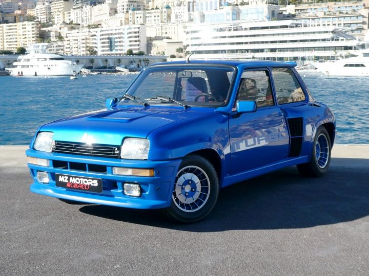 Renault R5 TURBO - N° 351 BLEU OLYMPE Occasion - 2