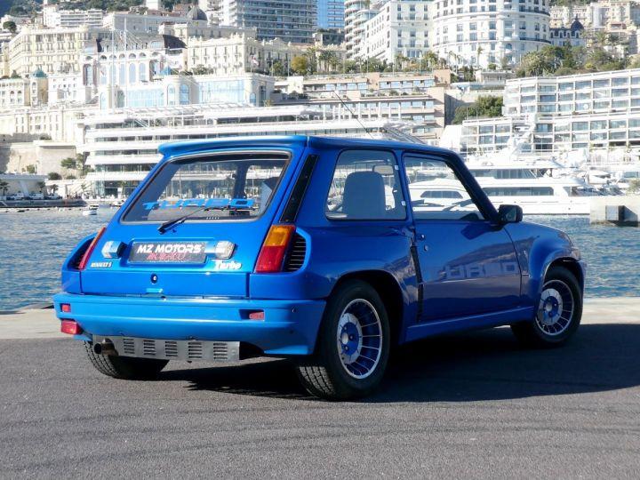 Renault R5 TURBO - N° 351 BLEU OLYMPE Occasion - 7