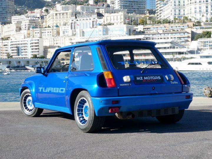Renault R5 TURBO - N° 351 BLEU OLYMPE Occasion - 11
