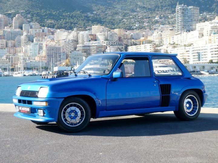Renault R5 Turbo TURBO - N° 351 Bleu Olympe Vendu - 3