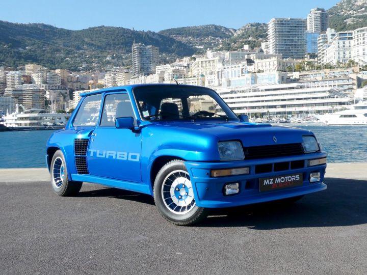 Renault R5 Turbo TURBO - N° 351 Bleu Olympe Vendu - 5