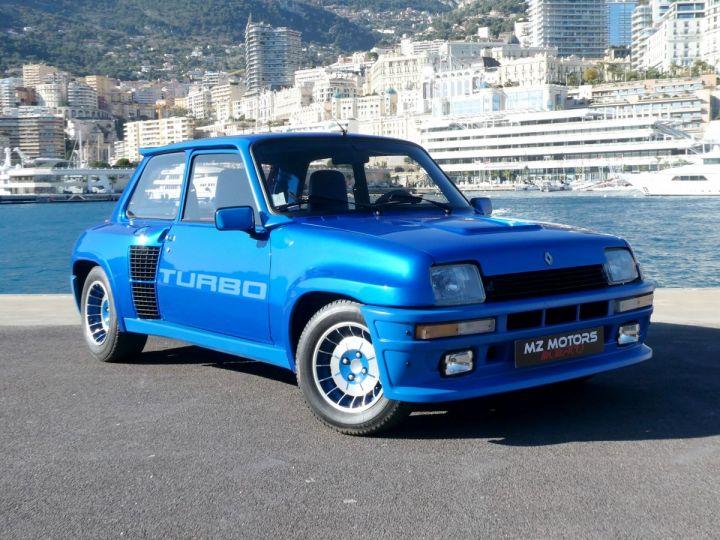 Renault R5 Turbo TURBO - N° 351 Bleu Olympe Vendu - 6