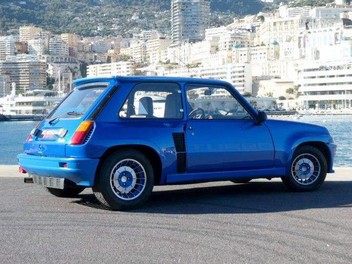 Renault R5 Turbo TURBO - N° 351 Bleu Olympe Vendu - 8