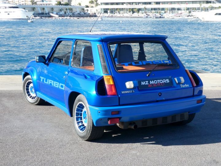 Renault R5 Turbo TURBO - N° 351 Bleu Olympe Vendu - 10
