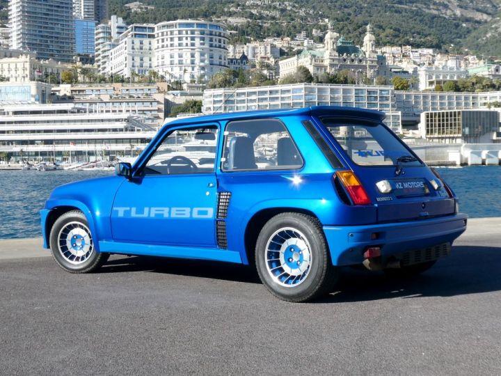 Renault R5 Turbo TURBO - N° 351 Bleu Olympe Vendu - 12