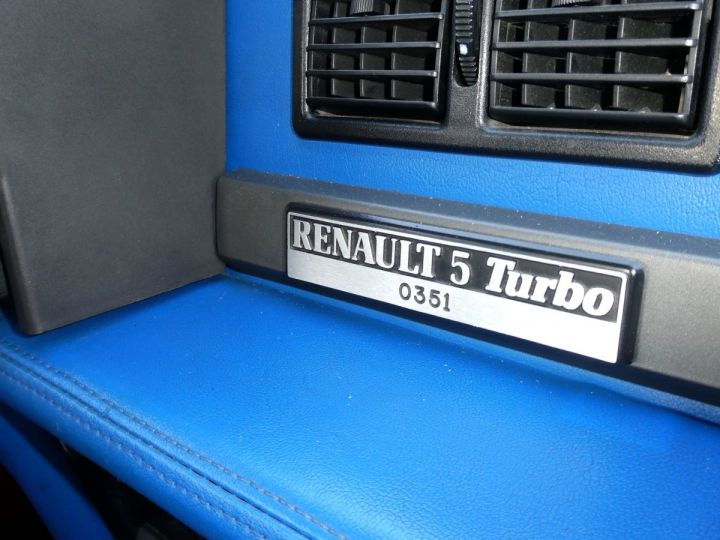 Renault R5 Turbo TURBO - N° 351 Bleu Olympe Vendu - 17