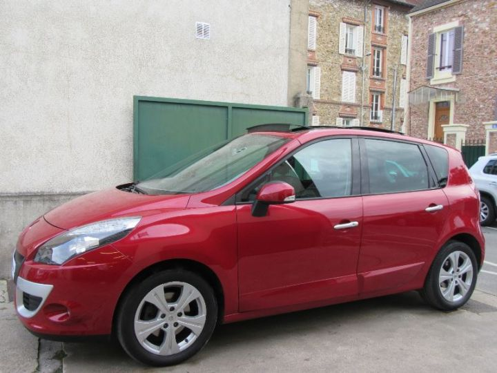 Renault Scenic 2.0 16V 140CH PRIVILEGE CVT ROUGE Occasion - 5