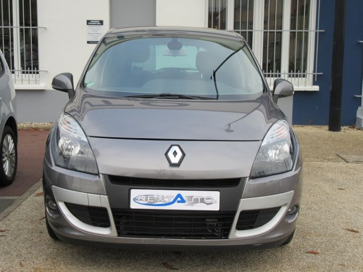 Renault Scenic III BVA 2.0 16V 140CH DYNAMIQUE Gris Fonce Occasion - 9