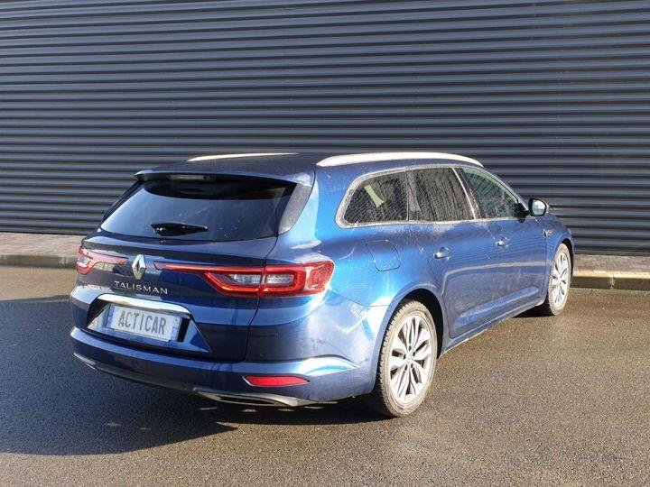Renault Talisman estate 1.6 dci 130 intens bva Bleu Occasion - 19
