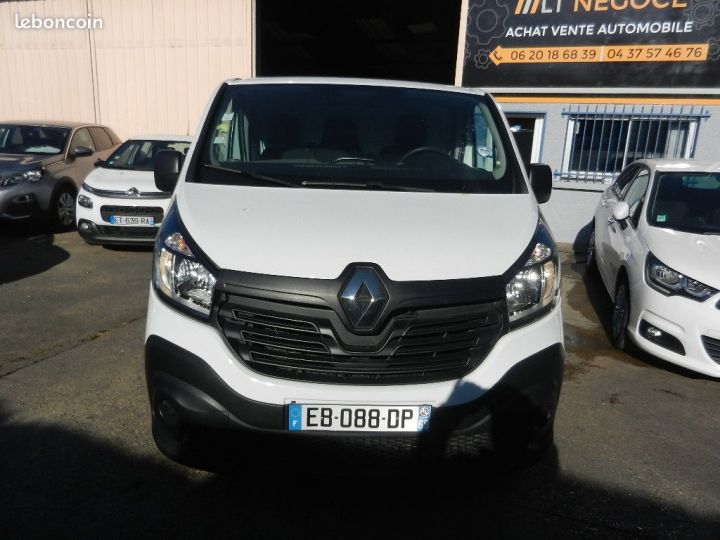 Renault Trafic FOURGON L1H1 1000 DCI 115 GPS garantie 12 mois  - 1