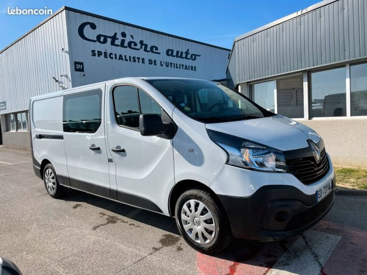 Renault Trafic l2h1 cabine approfondie 5 places  - 1