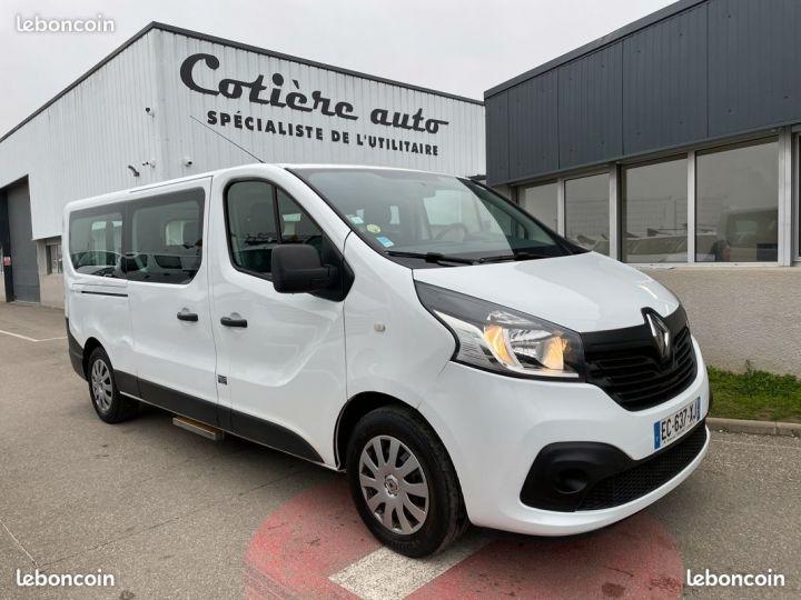 Renault Trafic l2h1 tpmr 8 places tva récupérable  - 1