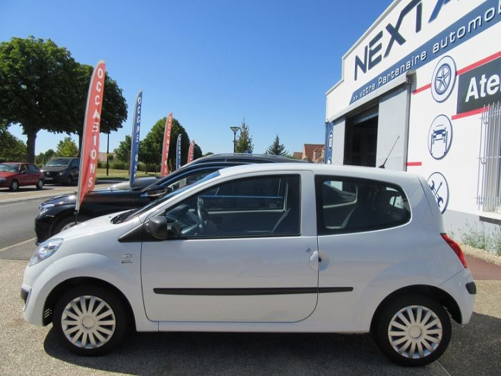 Renault Twingo 1.2 60CH AUTHENTIQUE Blanc - 5