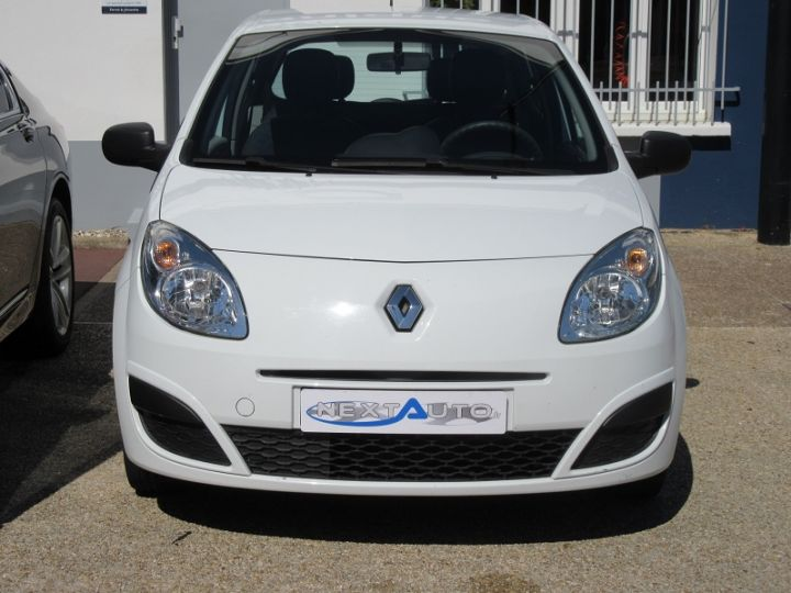 Renault Twingo 1.2 60CH AUTHENTIQUE Blanc - 7