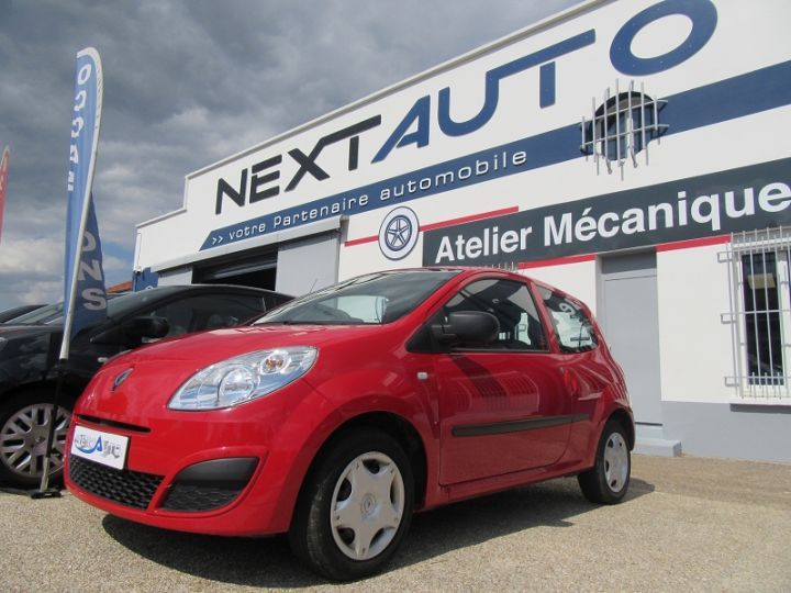 Renault Twingo 1.2 JE T'AIME Rouge Occasion - 1