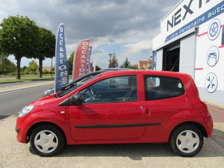 Renault Twingo 1.2 JE T'AIME Rouge Occasion - 5