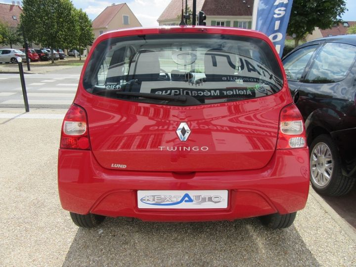 Renault Twingo 1.2 JE T'AIME Rouge Occasion - 7