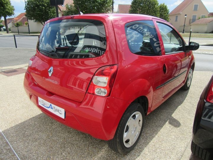 Renault Twingo 1.2 JE T'AIME Rouge Occasion - 8