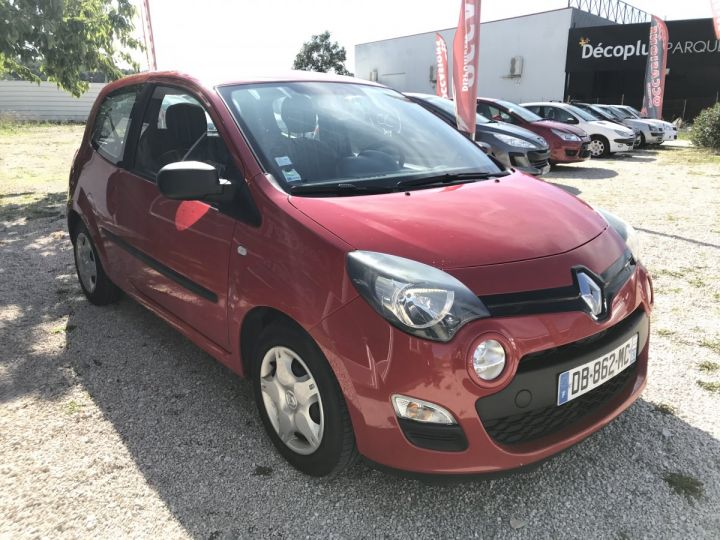 Renault TWINGO rouge  Occasion - 2