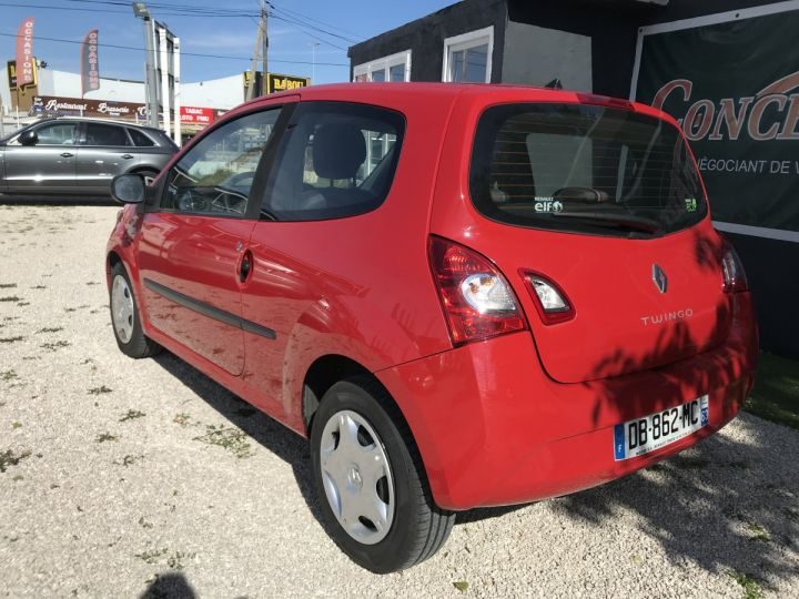 Renault TWINGO rouge  Occasion - 4