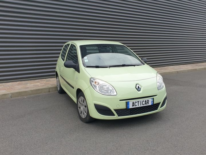 Renault Twingo 2 1.2 60 authentique bv5 o Vert Amande Occasion - 18