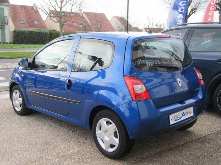 Renault TWINGO II 1.2 16V 75CH DYNAMIQUE QUICKSHIFT Bleue Occasion - 3