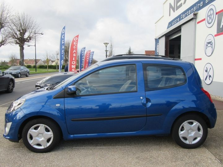 Renault TWINGO II 1.2 16V 75CH DYNAMIQUE QUICKSHIFT Bleue Occasion - 5