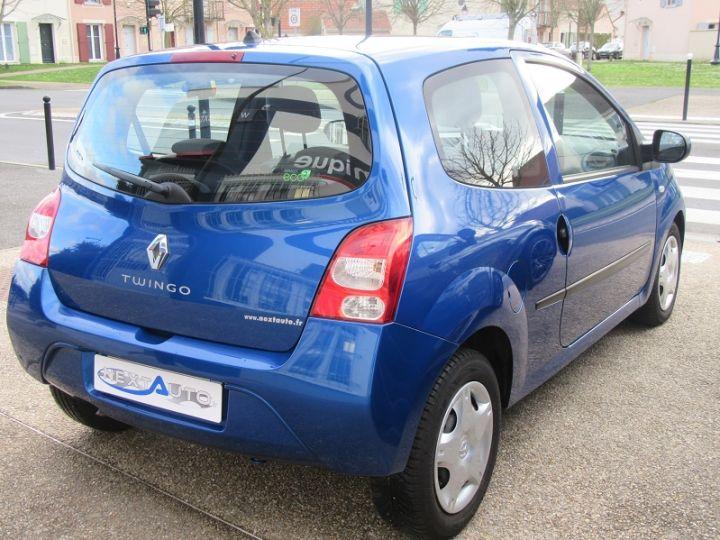 Renault TWINGO II 1.2 16V 75CH DYNAMIQUE QUICKSHIFT Bleue Occasion - 9