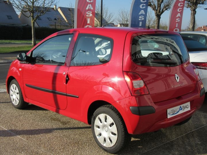 Renault TWINGO II 1.2 60CH AUTHENTIQUE Rouge Occasion - 3