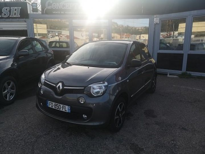 Renault Twingo intens GRIS FONCE Occasion - 2