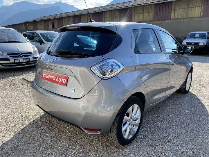Renault Zoe INTENS CHARGE RAPIDE Gris C - 4