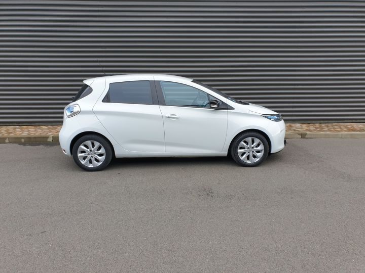 Renault Zoe intens charge rapide bva Blanc Occasion - 3
