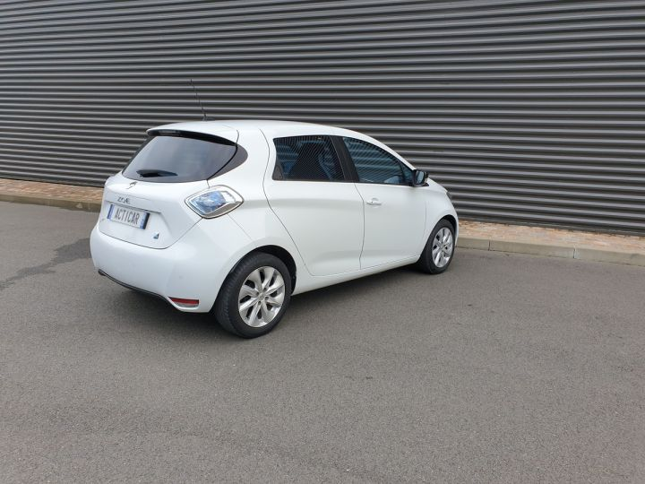 Renault Zoe intens charge rapide bva Blanc Occasion - 16