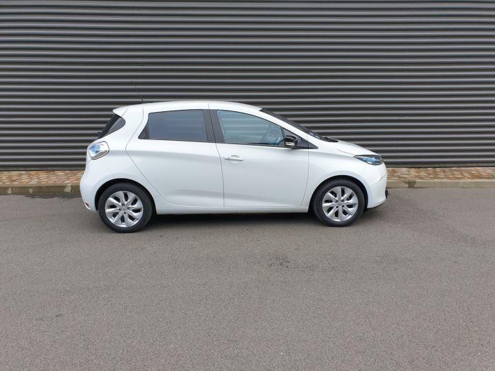 Renault Zoe intens charge rapide bva iii Blanc Occasion - 3
