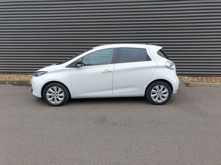 Renault Zoe intens charge rapide bva iii Blanc Occasion - 4