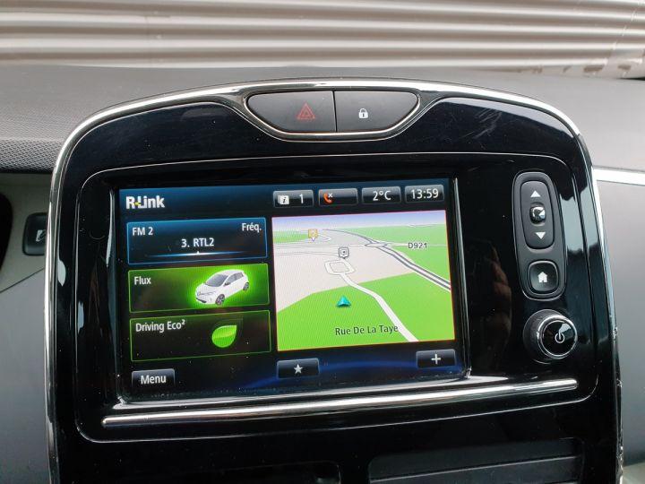 Renault Zoe intens charge rapide bva iii Blanc Occasion - 12