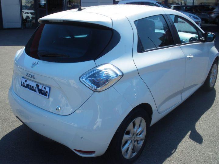 Renault Zoe ZOE INTENS blanc - 7