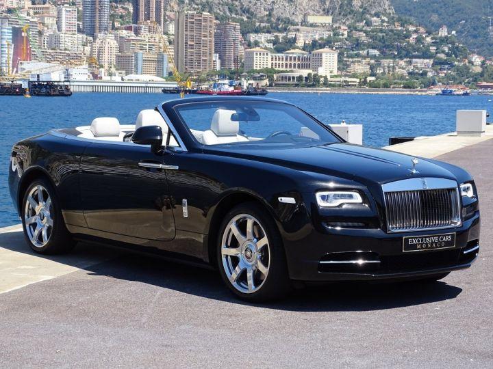 Rolls Royce Dawn 6.6 12 V 571 CV  - MONACO Noir Métal (Diamond Black) - 3